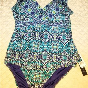La Blanca Tankini and Bottoms